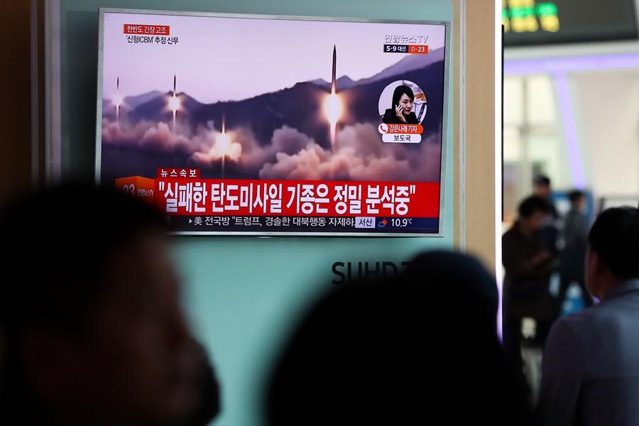 invistaja.info - Coreia do Norte fez novo lançamento de míssil, acusa Seul